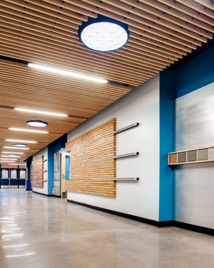 Buford School Hallway