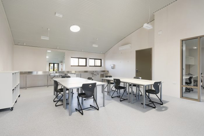 Echuca Twin Rivers Primary School 750DS O In Metal Ceiling Australia Adjusted